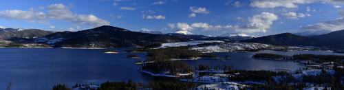 Dillon Lake Panorama