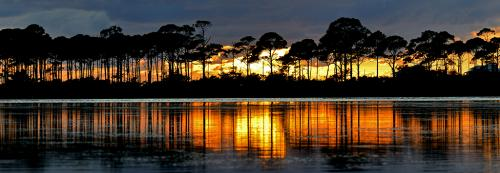 Port St Jo Peninsula Sunset