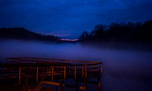 Fog Takes Over Sunset