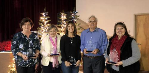 L-R-Rhonda Kastl-Diane Yance-Donna Taylor-Ted Boemanns-Dawn Horrex-Tawni Blamble not shown