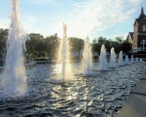 Sparkling Fountains