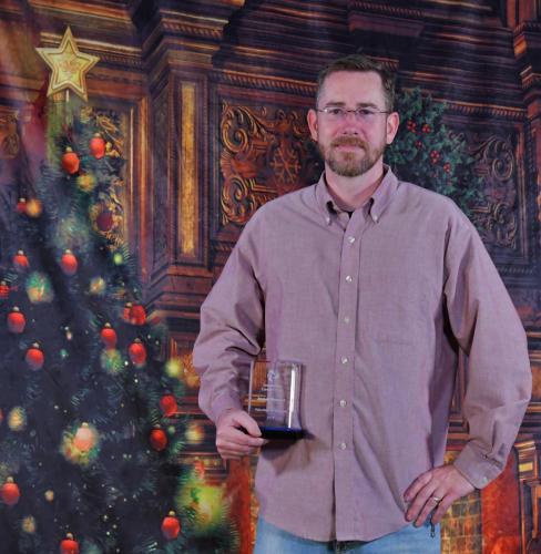Volunteer of the Year-James Bender