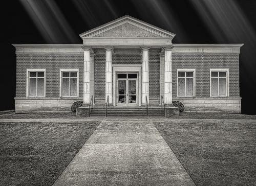 Advanced Monochrome-Douglasville Public Safety Building-Jerry Frost