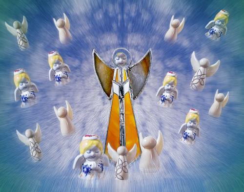 Stella Spyrou-Angels In The Sky